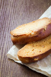 Rusks with nuts Stock Photography