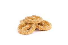 Rusks with sesame seeds Royalty Free Stock Images
