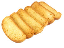 Rusks. A type of sweetened biscuits Stock Images