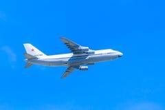 An-124-100 Ruslan (神鹰) 免版税库存照片