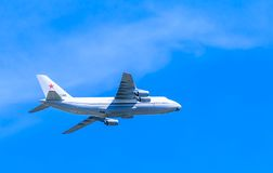 An-124-100 Ruslan (Condor) Royalty Free Stock Photography
