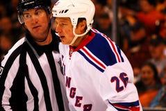 Ruslan Fedotenko New York Rangers Stock Image