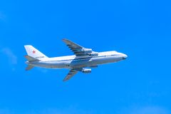 An-124-100 Ruslan (Kondor) Lizenzfreie Stockfotos