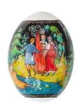 Rusland - CIRCA 2016: Het illustratieve beeld van de Palekhsky-miniatuur Royalty-vrije Stock Foto's