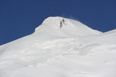 Rusland. De Kaukasus. Kabardino-Balkarië. Elbrus royalty-vrije stock afbeelding