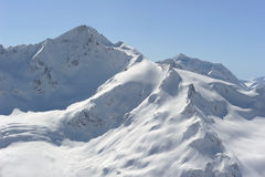 Rusland. De Kaukasus. Kabardino-Balkarië. Elbrus royalty-vrije stock fotografie