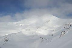 Rusland. De Kaukasus. Kabardino-Balkarië. Elbrus stock foto's
