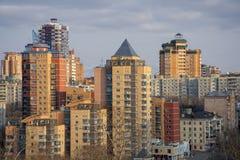 Rusland De mening van de stad van Khabarovsk royalty-vrije stock afbeeldingen