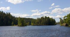 Rusland, eiland Valaam Royalty-vrije Stock Foto's