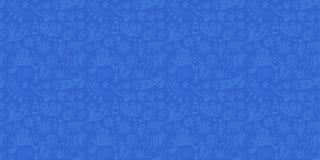 Rusland en het grijze en blauwe naadloze patroon van de voetbalkop Voetbalachtergrond met moderne en traditionele Russische eleme stock illustratie