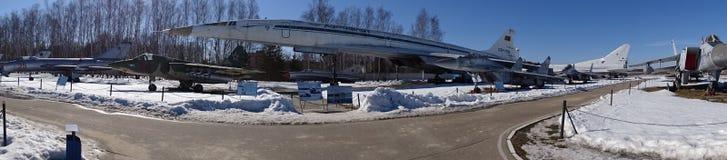 Rusland Gang rond Moskou Monino De winter Stock Afbeeldingen