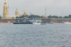 Rusland, heilige-Petersburg, 30 Juli, 2017 - de Russische Voorzitter Stock Fotografie