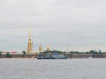 Rusland, heilige-Petersburg, 30 Juli, 2017 - Klein anti-submarine s Stock Foto