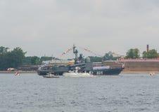 Rusland, heilige-Petersburg, 30 Juli, 2017 - President Vladimir Put Royalty-vrije Stock Afbeelding