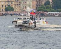 Rusland, heilige-Petersburg, 30 Juli, 2017 - President Vladimir Put Stock Afbeeldingen
