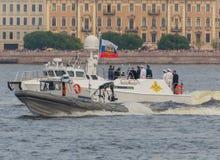 Rusland, heilige-Petersburg, 30 Juli, 2017 - President Vladimir Put Stock Foto's