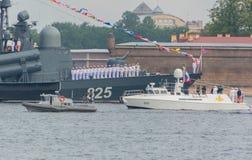 Rusland, heilige-Petersburg, 30 Juli, 2017 - Russische President Puti Stock Afbeeldingen