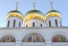 Rusland. Het gebied van Moskou. Dmitrov. Dmitrov het Kremlin stock foto's