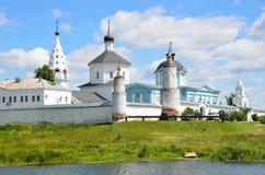 Rusland, het klooster van Geboorte van Christusbobrenev in Kolomna royalty-vrije stock fotografie