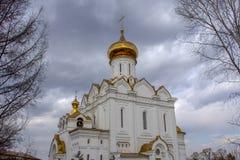 Rusland Kerk van de Heilige Martelaar Grote Hertogin Elizabeth stock afbeelding
