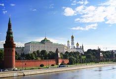Rusland, mooie mening van Moskou royalty-vrije stock afbeeldingen