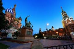 Rusland, mooie mening van Moskou stock fotografie