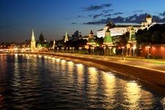 Rusland, mooie mening van Moskou stock afbeeldingen