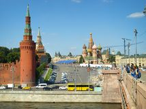 Rusland moskou Royalty-vrije Stock Fotografie