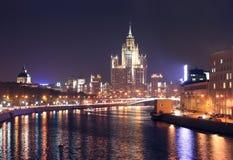 Rusland. Moskou. Royalty-vrije Stock Afbeeldingen