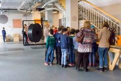 Rusland, Moskou, Experimentanium - Museum van het onderhouden van Wetenschappen royalty-vrije stock afbeeldingen