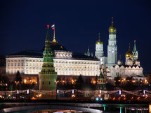Rusland. Moskou. Het Kremlin. Stock Afbeelding