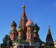 Rusland, Moskou, het Kremlin, St de Kathedraal van het Basilicum fotografie stock afbeeldingen