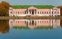 Rusland. Moskou. Het landgoed van Kuskovo Stock Fotografie