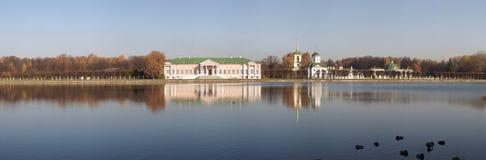 Rusland. Moskou. Het paleis van Kuskovo. Royalty-vrije Stock Foto