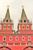 Rusland, Moskou, Rood Vierkant, het Kremlin, Royalty-vrije Stock Foto's