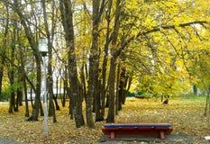 Rusland Park Royalty-vrije Stock Foto