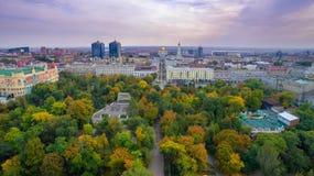 Rusland Rostov-op-trek aan Het park van Gorky Stock Fotografie