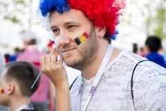 Rusland, rostov-op-trekt - op Juli aan royalty-vrije stock foto's
