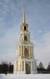 Rusland Ryazan het Kremlin Stock Afbeelding