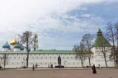 Rusland, Sergiev Posad: Drievuldigheid-Sergius Lavra stock afbeeldingen