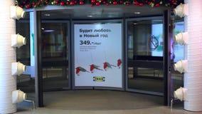 Rusland, Siberië 8 december 2014 om stock video