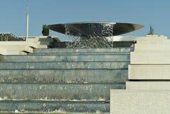 RUSLAND, SOCHY - 20 SEPTEMBER, 2017: fontein` Cascade ` in het Olympische Park, Sotchi Stock Foto's