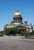 Rusland. St. Isaac Kathedraal in St. Petersburg. Stock Foto