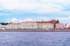 Rusland, St. Petersburg, Augustus 2016: Universitaire Dijk 11, 9 Stock Afbeeldingen
