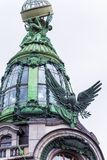 Rusland, St. Petersburg, Augustus 2016: Zanger House Royalty-vrije Stock Foto