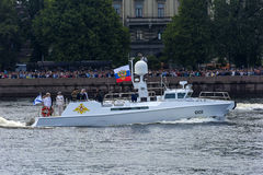Rusland, St. Petersburg, 30 Juli, de plechtige parade van 2017 A voor Th Royalty-vrije Stock Foto