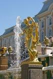Rusland, St Petersburg, Peterhof Royalty-vrije Stock Afbeelding