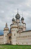 Rusland. Stad van Rostov Groot. Rostov het Kremlin stock fotografie