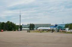 Rusland Tentoonstelling van Economische Successen in Moskou 21 Juni 2016 Stock Fotografie
