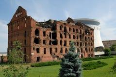 Rusland. Volgograd. Een gedenkteken   Stock Fotografie
